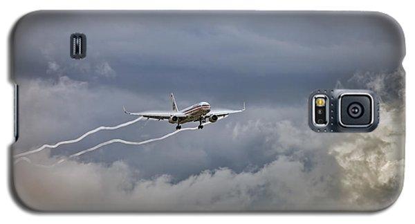 American Aircraft Landing Galaxy S5 Case by Juan Carlos Ferro Duque