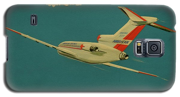 American Airlines Boeing 727 Galaxy S5 Case