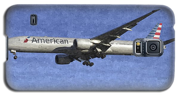 American Airlines Boeing 777 Aircraft Art Galaxy S5 Case