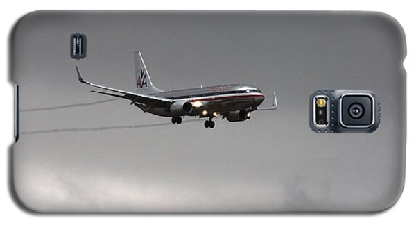 American Airlines-landing At Dfw Airport Galaxy S5 Case