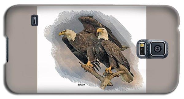 American Bald Eagle Pair Galaxy S5 Case