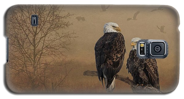 American Bald Eagle Family Galaxy S5 Case