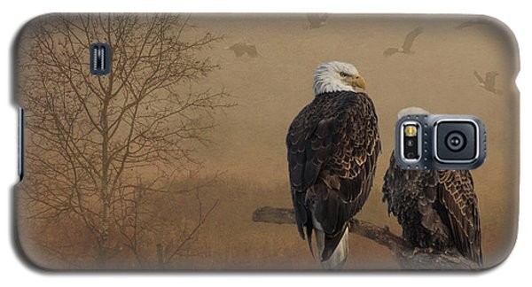 American Bald Eagle Family Galaxy S5 Case