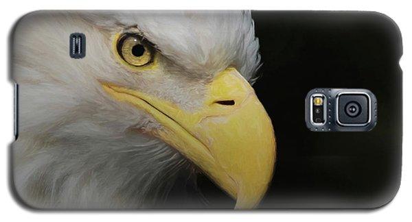American Bald Eagle Portrait 4 Galaxy S5 Case by Ernie Echols