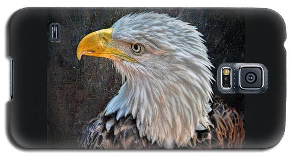Galaxy S5 Case featuring the photograph American Bald Eagle by Savannah Gibbs