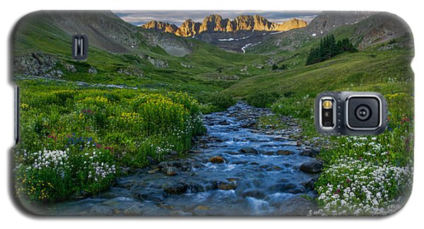 Galaxy S5 Case featuring the photograph American Basin Stream by Aaron Spong
