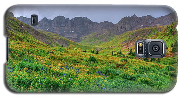 Galaxy S5 Case featuring the photograph American Basin Summer Storm by Teri Atkins Brown