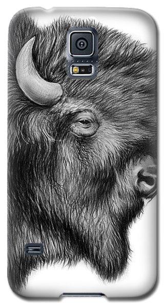 Bison Galaxy S5 Case - American Bison by Greg Joens