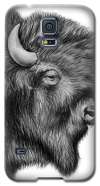 Bison Galaxy S5 Case - American Bison by Greg Joens