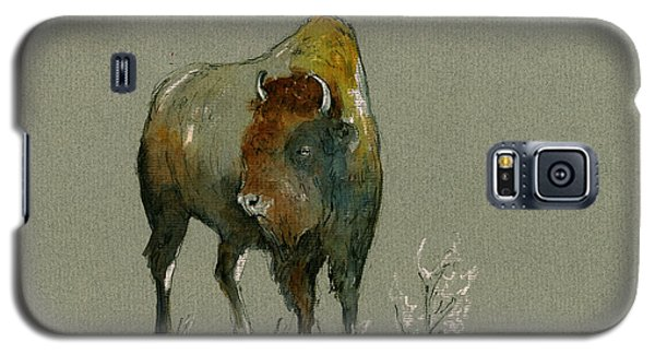 Bison Galaxy S5 Case - American Buffalo by Juan  Bosco