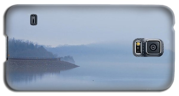 American Coot In Misty Fog 20120316_40a Galaxy S5 Case