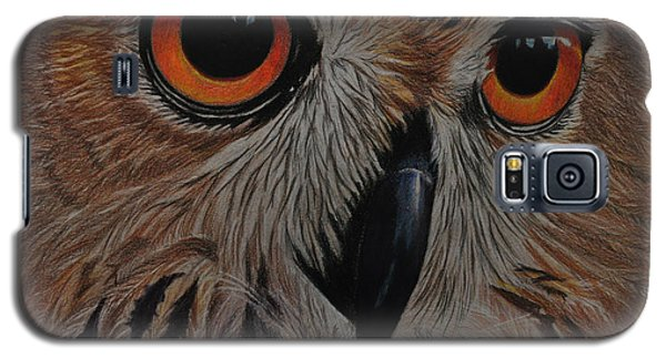 American Eagle Owl Galaxy S5 Case