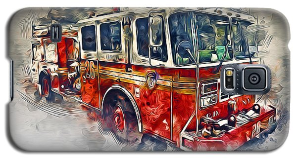 American Fire Truck Galaxy S5 Case