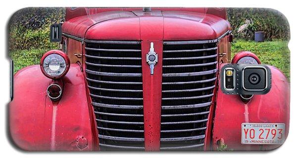 American Foamite Firetruck1 Galaxy S5 Case by Susan Crossman Buscho