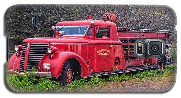 American Foamite Firetruck2 Galaxy S5 Case by Susan Crossman Buscho