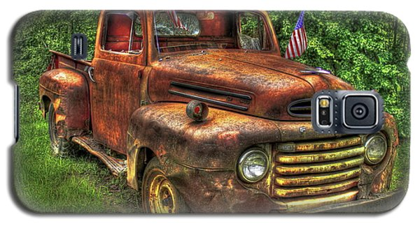 American Ford 1950 F-1 Ford Pickup Truck Art Galaxy S5 Case