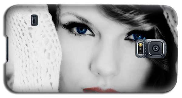 American Girl Taylor Swift Galaxy S5 Case by Brian Reaves