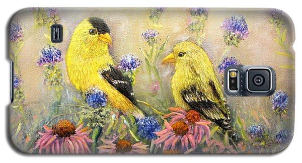 American Goldfinch Pair Galaxy S5 Case