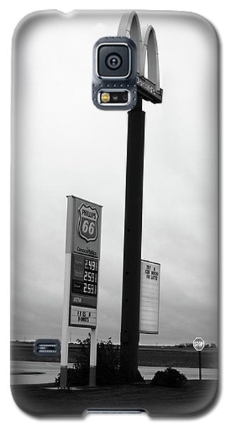 Galaxy S5 Case featuring the photograph American Interstate - Illinois I-55 by Frank Romeo