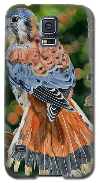 American Kestrel In My Garden Galaxy S5 Case