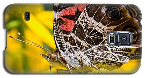 American Lady Butterfly Galaxy S5 Case