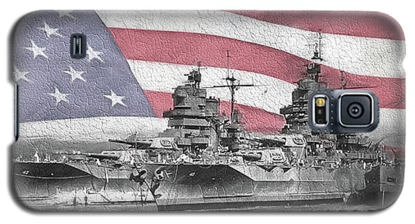 Galaxy S5 Case featuring the digital art American Naval Power by JC Findley