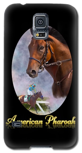 American Pharoah Framed Galaxy S5 Case