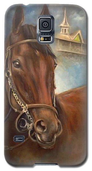 American Pharoah Galaxy S5 Case by Patrice Torrillo