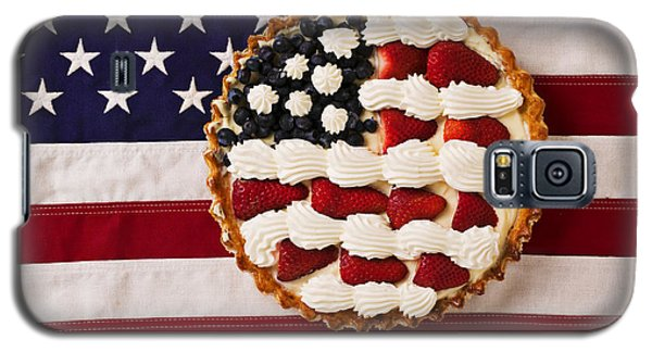 American Pie On American Flag  Galaxy S5 Case