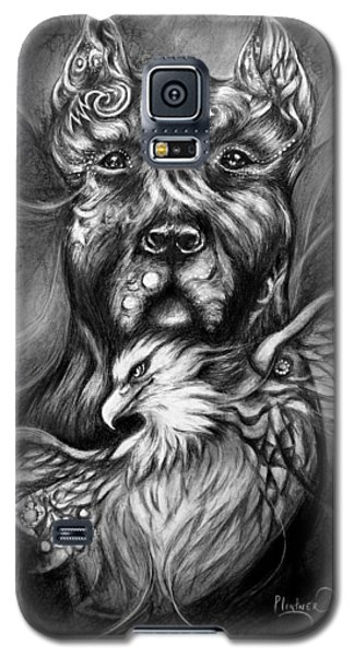 American Pitbull Galaxy S5 Case by Patricia Lintner