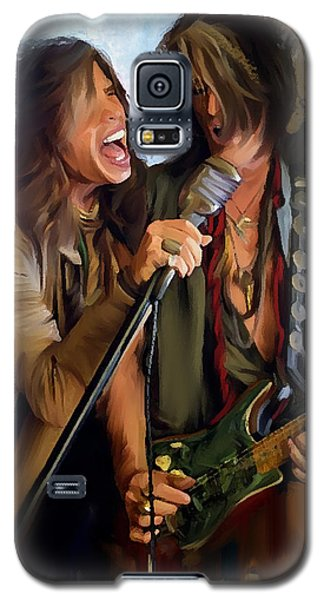 American Rock  Steven Tyler And Joe Perry Galaxy S5 Case