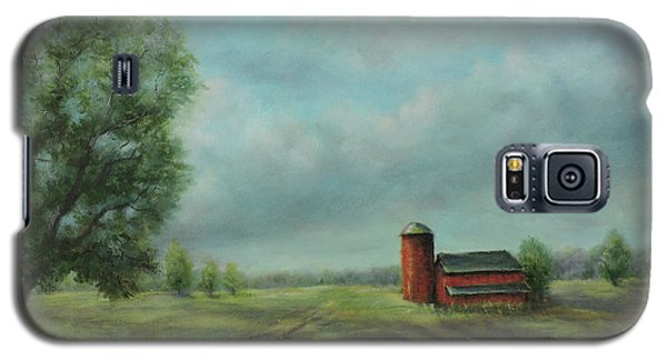American Scene Red Barn  Galaxy S5 Case