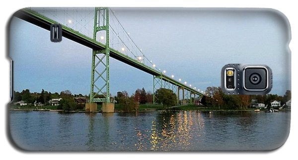 American Span Thousand Islands Bridge Galaxy S5 Case