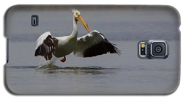 American White Pelican Da Galaxy S5 Case by Ernie Echols