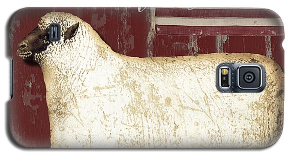 Sheep Galaxy S5 Case - American Wool by Mindy Sommers