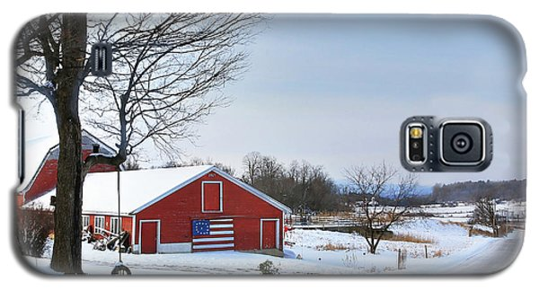 Americana Barn In Vermont Galaxy S5 Case