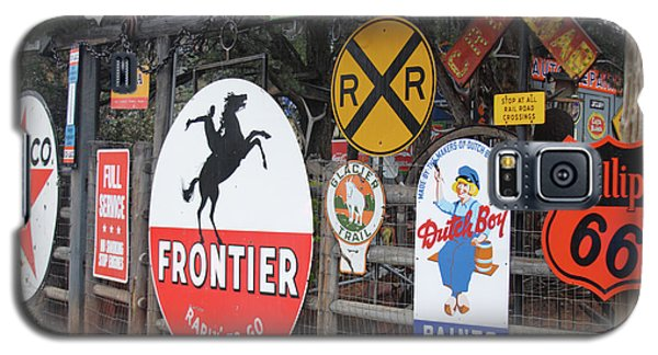 Galaxy S5 Case featuring the photograph Americana Rt.66 by Elvira Butler