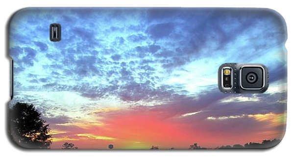 City On A Hill - Americus, Ga Sunset Galaxy S5 Case