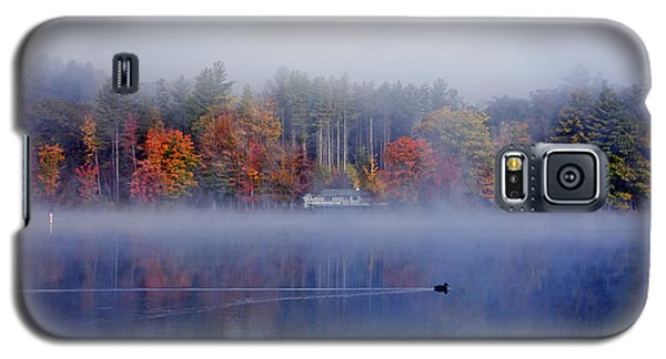 Amherst Lake Vt Galaxy S5 Case by Butch Lombardi