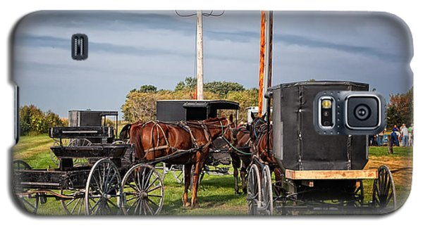 Amish At The Auction Galaxy S5 Case