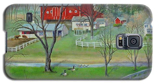 Amish Farm Galaxy S5 Case