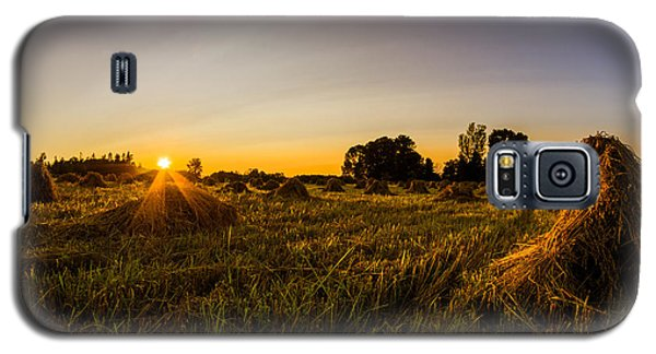 Amish Harvest Galaxy S5 Case by Chris Bordeleau