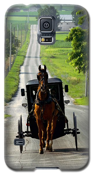 Amish Morning Commute Galaxy S5 Case