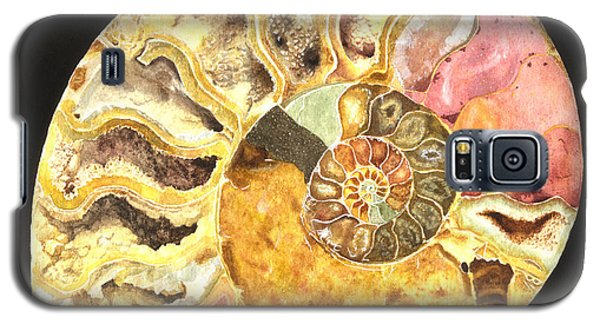 Ammonite Fossil Galaxy S5 Case