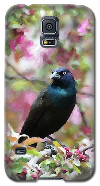 Galaxy S5 Case featuring the digital art Among The Blooms by Betty LaRue