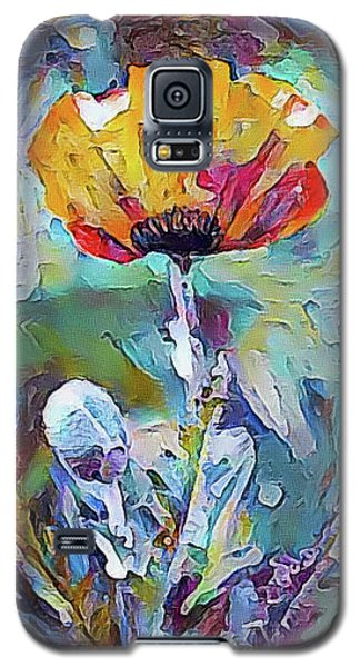 Among The Poppies II Galaxy S5 Case