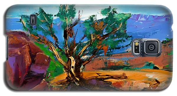 Among The Red Rocks - Sedona Galaxy S5 Case by Elise Palmigiani