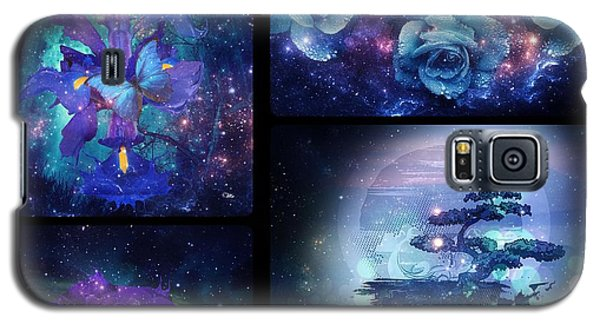 Galaxy S5 Case featuring the digital art Among The Stars Series by Mo T