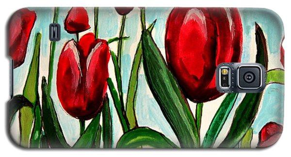 Among The Tulips Galaxy S5 Case