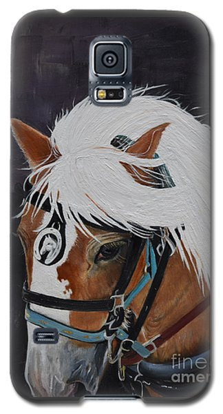 Amos - Haflinger - Horse Galaxy S5 Case